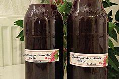 Weintrauben - Vanille - Likör 1