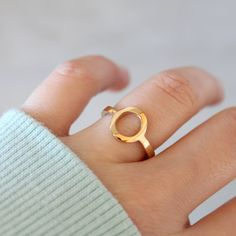 Inmortal ring gold Diana Parés Diana, Geometric Jewelry, Heart Ring, Jewels, Rings, Gold Plating, Two Pieces, Sterling Silver, Jewerly