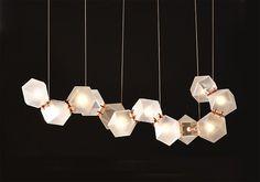 Welles Glass light by Gabriel Scott