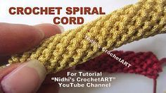 How to crochet an i-cord.You can use i-cord in amigurumi, as trim, or even to make bag handles. Video's: Crochet an i-cord (right-handed) AND Crochet an i-cord (left-handed) - Crochet - Tutorials Crochet I Cord, Bag Crochet, Crochet Shell Stitch, Crochet Purses, Free Crochet, Double Crochet, Beginner Crochet Tutorial, Crochet Stitches For Beginners, Knitting For Beginners