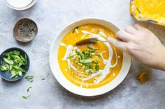 ΣΥΝΤΑΓΕΣ: Καροτόσουπα Η ωραία βελούτε σούπα με τζιντζερ και Philadelphia ή με πορτοκάλι