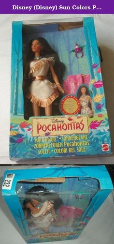 Disney (Disney) Sun Colors Pocahontas Doll Doll doll figure (parallel import). It's shipped off from Japan.