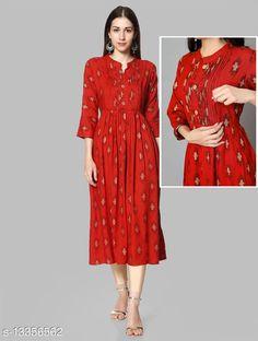 Kurtis & Kurtas Banita Voguish MaternityKurtis Fabric: Rayon Sleeve Length: Three-Quarter Sleeves Pattern: Colorblocked Combo of: Single Sizes: S (Bust Size: 18 in, Size Length: 48 in)  XL (Bust Size: 21 in, Size Length: 48 in)  L (Bust Size: 20 in, Size Length: 48 in)  M (Bust Size: 19 in, Size Length: 48 in)  XXXL (Bust Size: 23 in, Size Length: 48 in)  XXL (Bust Size: 22 in, Size Length: 48 in)  Country of Origin: India Sizes Available: S, M, L, XL, XXL, XXXL   Catalog Rating: ★4.2 (1687)  Catalog Name: Abhisarika Alluring Maternity Kurtis and Feeding Kurtis with 2 sided zip CatalogID_2618112 C74-SC1001 Code: 946-13356562-6471