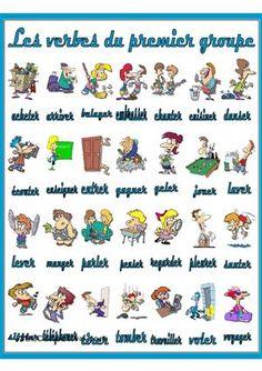 Les verbes du premier groupe