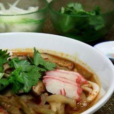 Spicy Udon Noodle Soup by mytrialsinthekitchen
