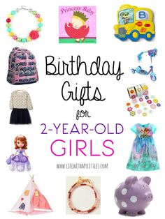 birthday gifts for 2 year old girls