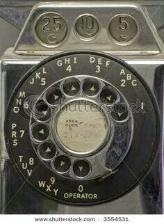 """Payphone. Before that quarter slot appeared, they were 10 cents. The origin of the phrase """"drop a dime""""."""