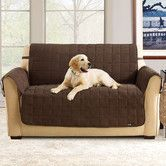 Found it at Wayfair - Quilted Soft Suede Pet Sofa Cover