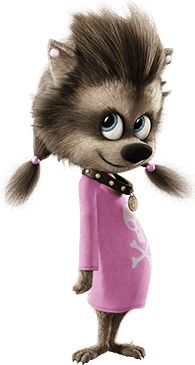 Hotel Transylvania / Winnie the werewolf girl-pup Hotel Transylvania Party, Hotel Transylvania Characters, Winnie Poo, Werewolf Girl, Character Art, Character Design, Tv Tropes, Cool Animations, Halloween Disfraces