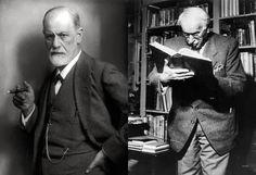 Dr. Sigmund Freud and Dr. Carl G. Jung