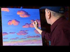 Pintar Nubes Con Acrílicos Leccion 2 de pintura arte - Pintando.org