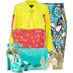 """o so so colorful :)"" by fidakaq1 on Polyvore"