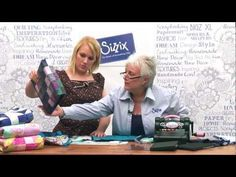 Learn to make a mini-quilt with Sizzix quilting dies - YouTube