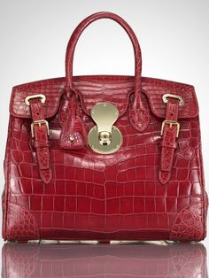 The Alligator Ricky Bag - Collection Accessories The Ricky Bag  - RalphLauren.com