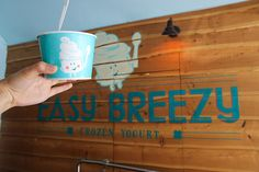 Easy Breezy Frozen Yogurt - Restaurant - San Francisco - HERE San Fransisco, Frozen Yogurt, Restaurant, Mugs, Tableware, Easy, Dinnerware, Diner Restaurant, Tumblers