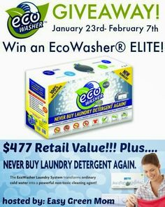 New Age Mama: EcoWasher ELITE #Giveaway