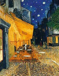 Vincent Van Gogh - Café-Terrasse am Abend