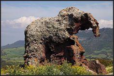 Elephant Rock on Sardinia