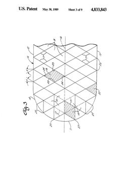 특허 US4833843 - Vaulted dome structure - Google 특허 검색