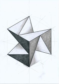 Geometry Drawing - Drawing Techniques Geometry Art Geometric Drawing Geometric Art Geometric Drawing At Paintingvalley Com Explore Collection Of Geometric Shape. Geometry Art, Sacred Geometry, Solid Geometry, Geometric Designs, Geometric Shapes, Geometric Drawing, Triangle Drawing, Triangle Art, Triangle Pattern