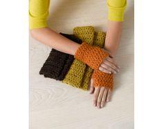 Warming Trend Wristers (Crochet)
