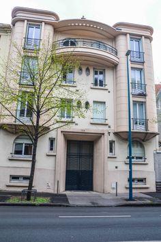 Immeuble d'habitation (vers 1930) 29 boulevard Aristide Briand Clermont-Ferrand 63000. Architecte : A. Fustier.