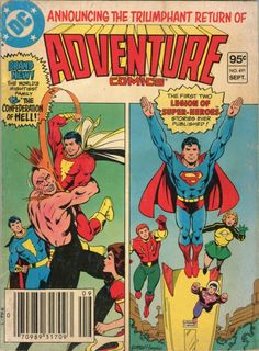 SUPERMAN Adventure Comics #491 September, 1992 DC 100 pages RARE! EXCELLENT!