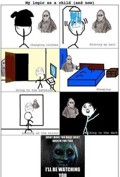 My Logic As A Child - Posted in Funny, Troll comics and LOL Images - LOL Heaven