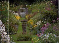 A Gertrude Jekyll garden.
