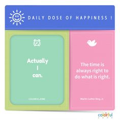 Practice yourself to be happy and if you want help, here is the daily dose of it, you can do it. Positive Mindset, Positive Vibes, Do What Is Right, Mindfulness Quotes, Growth Mindset, Self Development, Happy Quotes, You Can Do, Happy Life