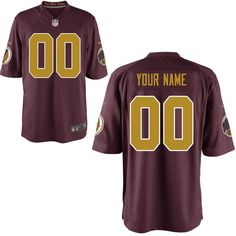 Nike Men's Washington Redskins Customized Throwback Game Jersey https://www.fanprint.com/licenses/washington-redskins?ref=5750