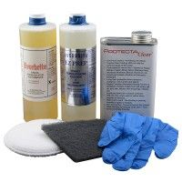 SSEVSSKIT2 PROTECTACLEAR STAINLESS STEEL CLEANING KIT 1 PINT (LARGE)  To see other sizes, colours and options for this category/product please visit our website at: www.euroeac.com/ or give us a call toll free at: 1-800-465-7143. #euroarchitecturalcomponents #euroeac #euro #architecture #architecturalcomponents #building #construction #iron #ironwork #house #home #renovation #renovations