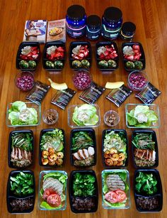 22 Minute Hard Corps Meal Prep for the 1200-1500 Calorie Level | http://BeachbodyBlog.com