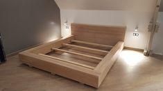 Fabriquer un lit sur-mesure avec nos panneaux en chêne massif labellisés Origine France Garantie et PEFC - du made in france à prix fabricant !