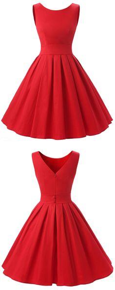 Dresstells Vintage 1950's Audrey Hepburn Style Rockabilly Swing Party Prom Dress