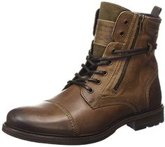 Mustang Schnür-boot, Men's Ankle Boots