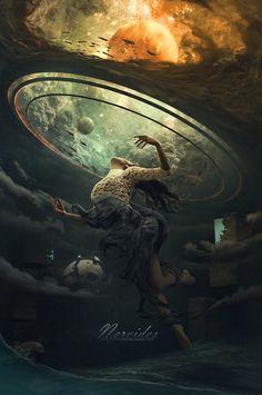 Dark, Fantasy, and Surreal Artwork from Deviant Artists Dark Fantasy Art, Fantasy Concept Art, Fantasy Artwork, Dark Art, Arte Obscura, Science Fiction Art, Fantasy Landscape, Sci Fi Art, Surreal Art