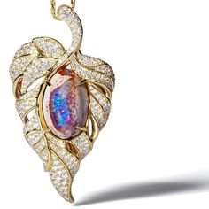 My Winter Collection launches this week with incomparable rarity. Kat Florence Mexican Fire Opal and D Flawless Diamond Necklace.