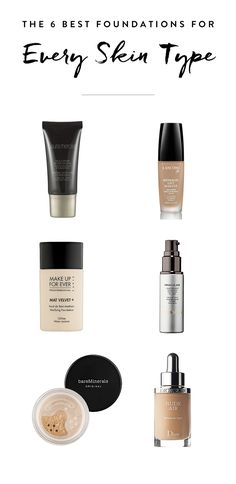 The search is over, we've found the perfection foundation for every skin type. Find out which of these beauty products is right for you.