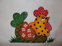 Trabalhos realizados nas aulas de pintura em tecido