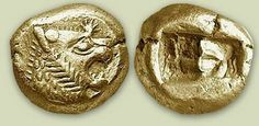 The world's first coin: The Lydian Lion
