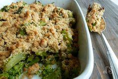 Crumble de brocolis au Parmesan @Emilie Claeys and lea's secrets