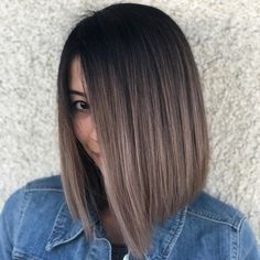 65 ideas hair goals color ombre balayage for 2019 Brown Ombre Hair, Brown Blonde Hair, Ombre Hair Color, Hair Color Balayage, Brunette Hair, Hair Highlights, Blonde Ombre, Color Highlights, Ash Brown Hair Balayage