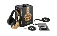 NEW FACTORY SEALED LIMITED EDITION MONSTER 24K HEADPHONES *MEEK MILLS EDITION*