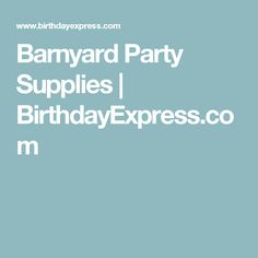 Barnyard Party Supplies   BirthdayExpress.com