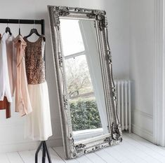 SALE!! 20% OFF! Gallery Direct: BRAND NEW Large Curved Louis Leaner Silver Mirror | London | Gumtree