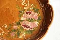 Weiteres - Bauernmalerei - Kleines Tablett oder Teller - ein Designerstück von Metjendorf bei DaWanda
