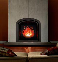 Zelda Fireplace Art