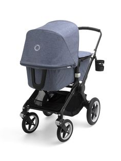 The best in class Bugaboo Fox 2 is the newest and most advanced comfort pram in the iconic Bugaboo stroller lineup.