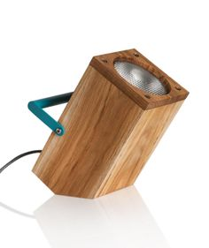 Haim Evgi's TOM Table Lamp, inspired by a torch